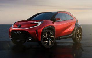 Toyota Aygo X Prologue Concept ใหม่ รถครอสโอเวอร์ขนาดเล็กที่จะมาแทนซิตี้คาร์ในปี 2022